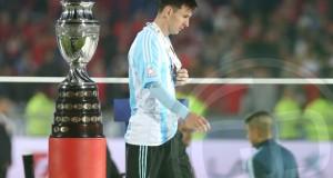 Messi, sin brillo ni gloria con la Albiceleste