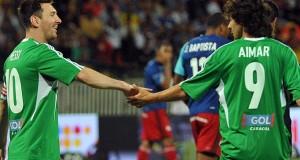 """Messi sobre retirada de Aimar: """"Se retira un grande, uno de mis ídolos"""""""