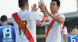 El Rayo Vallecano vence al Eintracht Braunschweig de Alemania gracias a Miku