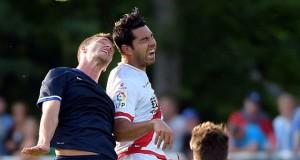Miku disputó con el Rayo Vallecano un partido amistoso frente al Hertha