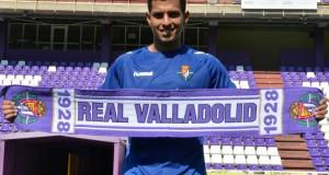 +VIDEO/FOTOS | Renzo Zambrano fue presentado oficialmente como nuevo jugador del Real Valladolid