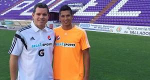 +FOTOS | Renzo Zambrano a punto de firmar con el Real Valladolid