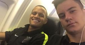 El Málaga llegó a Colombia para iniciar gira americana