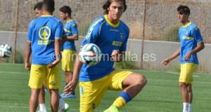 +FOTOS | Ronaldo Peña ya entrena con la UD Las Palmas