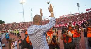 +FOTOS | Rey: «En cada partido dejamos el todo para alzar las copas»