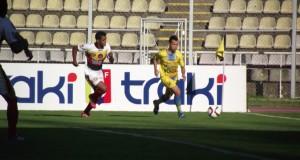 Ureña no pasó del empate ante Tucanes en Pueblo Nuevo