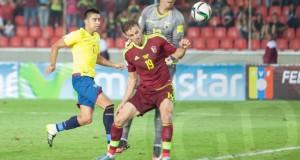 Ecuador también bailó a La Vinotinto