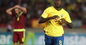 Felipe Caicedo máximo goleador de la Eliminatoria al Mundial Rusia 2018