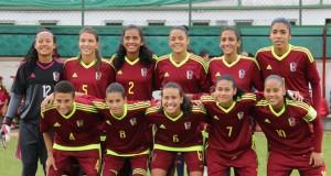 +FOTOS   La Vinotinto femenina Sub-20 clasifica a la Fase Final del Sudamericano