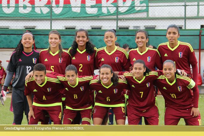 Campeonato Sudamericano Sub 20: La Vinotinto Femenina Sub-20 Clasifica A La Fase