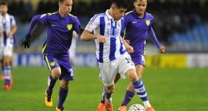 +FOTOS | Málaga de Rosales y Juanpi empata con la Real Sociedad