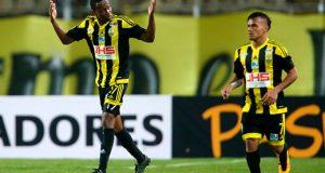 +VIDEO/FOTOS | Gol de Yuber Mosquera deja a Táchira con ventaja ante Pumas
