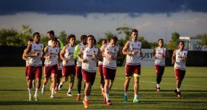 FOTOS | Venezuela realizó su primer entrenamiento en Houston
