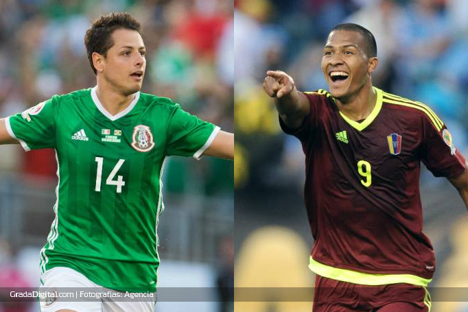 javier_chicharito_hernandez_salomon_rondon_mexico_venezuela