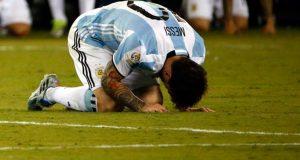Lionel Messi le dice adiós a la albiceleste