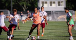 +VIDEO/FOTOS | Venezuela realizó su primer entrenamiento en Boston