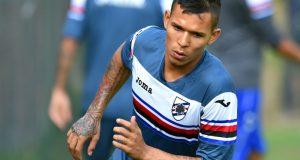 Andrés Ponce inició pretemporada con la Sampdoria