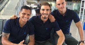 +VIDEO | Futbolistas venezolanos del Málaga inician gira de pretemporada