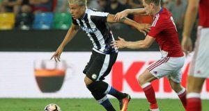 +FOTOS | Adalberto Peñaranda juega por primera vez en el Stadio Friuli