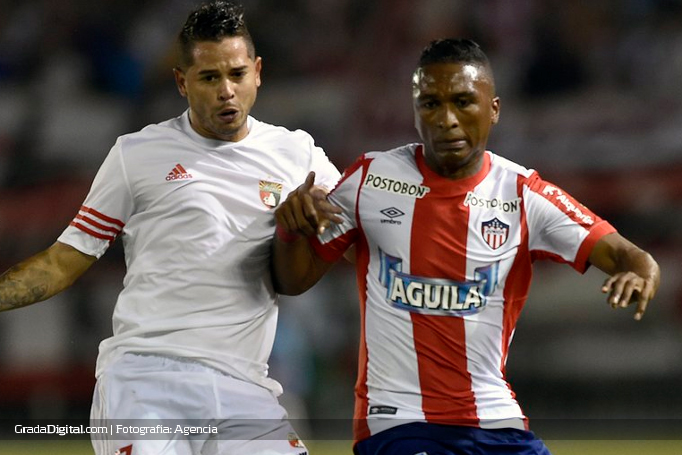 cesar_gonzalez_junior_barranquilla_deportivo_lara_copa_sudamericana_16082016