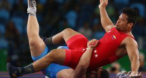 Rio 2016 | Erwin Caraballo derrotado en repechaje de la lucha grecorromana