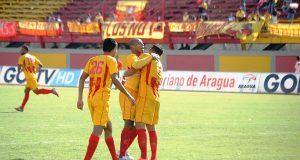 Aragua empató en su aniversario ante Petare