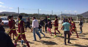 +VIDEO | ¡Vinotinto S-20 y Atlético de Madrid juvenil se enfrentaron fuera del terreno!