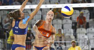 Río 2016   Dupla Agudo-Pazo cayó en su primer encuentro de voleibol