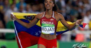 Rio 2016 | ¡INMENSA! Yulimar Rojas se cuelga la medalla de plata para Venezuela en los Juegos Olímpicos