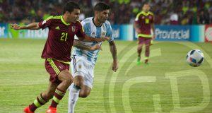 +FOTOS | Venezuela no sostuvo la ventaja ante Argentina