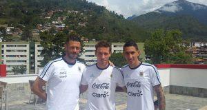 La Selección Argentina ya está en Mérida