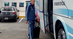 Argentina viajó hacia Mérida y Messi regresó a Barcelona