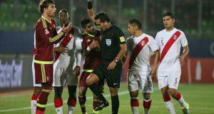 Polémico árbitro pitará el Uruguay – Venezuela