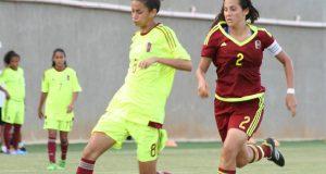 La Vinotinto femenina Sub-17 derrotó a la Sub-20