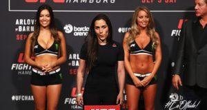 Verónica Macedo, la hermosa venezolana que debutará en la UFC
