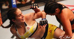 +VIDEO/FOTOS | La venezolana Verónica Macedo debuta sin éxito en la UFC