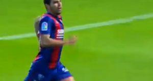 +VIDEO | Alexander González anota en goleada del Huesca
