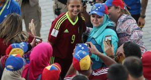 FOTOS | Mira las mejores fotografías de la clasificación a semifinales de la Vinotinto femenina Sub-17