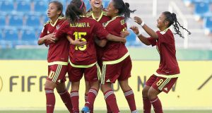 VIDEO | ¡Tremenda rumba! Así bailó la Vinotinto femenina Sub-17 antes de enfrentar a México