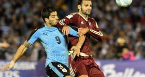 La Vinotinto no pudo sumar ante Uruguay