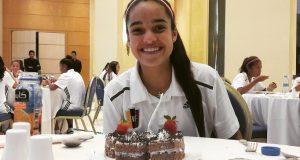 +VIDEOS | ¡Felicidades! Dos jugadoras de la Sub-17 femenina celebran su cumpleaños en Jordania