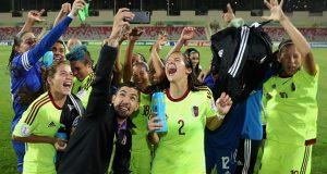 FOTOS   Mira las mejores fotografías de la clasificación a cuartos de la Vinotinto femenina Sub-17