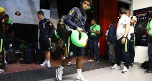 FOTOS | La selección brasileña ya está en Mérida