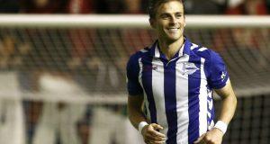 Christian Santos anota su primer gol en España