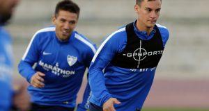 +VIDEO | Juanpi vuelve a los entrenamientos del Málaga
