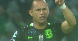 Alejandro Guerra marca e impulsa al Nacional a las semifinales en Colombia