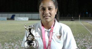 La venezolana Oriana Altuve se proclama goleadora de la Copa Libertadores Femenina 2016