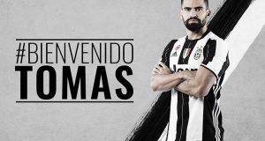 """La Juventus le da la bienvenida a Tomás Rincón: """"es un sueño cumplido"""""""