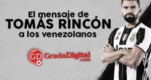 VIDEO | Este fue el gran mensaje de Tomás Rincón a los venezolanos tras presentarse con Juventus