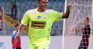 El paraguayo Víctor Aquino y Jesús Hernández lideran la tabla de goleadores